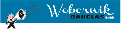 Glastechnik Wobornik – Glasereibetrieb Logo